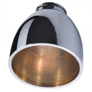 CNC-gedrehtes Leuchtengehäuse verchromt