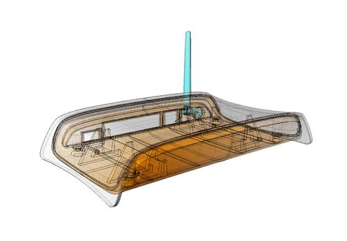 Industriedesign: CAD-Darstellung Router | © Copyright by G.W.P. Manufacturing Services AG - Warnung: Unberechtigte Bildnutzung wird konsequent verfolgt!