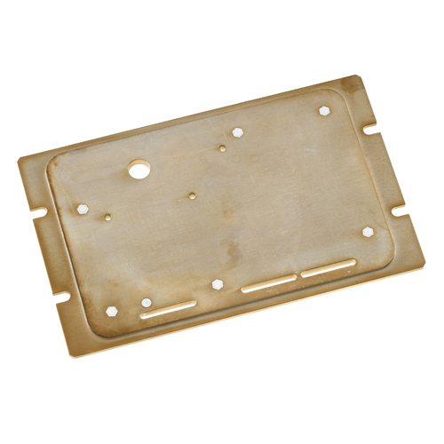 Aluminiumplatte chromatiert