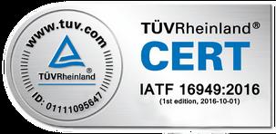 G.W.P. AG TÜV-Cert-IATF 16949_2016
